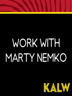 Work with Marty Nemko, 3/21/19
