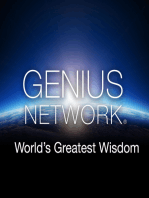 The Happiness Advantage with Shawn Achor - Genius Network Episode #9