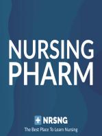 Acetaminophen (Tylenol) Nursing Pharmacology Considerations
