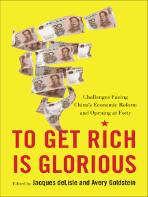 To Get Rich Is Glorious: Challenges Facing China's Economic Reform and Opening at Forty