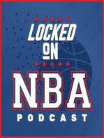 LOCKED ON NBA -Mid Season Report East #2 - Bucks, Knikcs, Wizards, Hawks, Hornets, Heat and Pacers