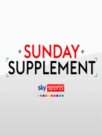 Sunday Supplement - 3rd September
