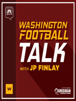 An update on Josh Doctson's heel and another installment of the oral history of 1991 featuring Earnest Byner