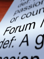 The Forum – 12/04/2015