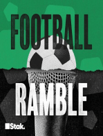 The Football Ramble. Sponsored by Capital One - Semi Final Second Leg Review