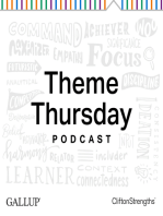 Positivity -- Bringing Enthusiasm to Others -- Theme Thursday Season 1