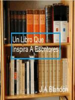 Un Libro Que Inspira A Escritores: AUTO AYUDA