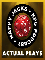 WILD00 Happy Jacks RPG Actual Play, Wild Wild Talents, Wild Talents (ORE)