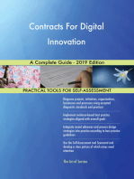 Contracts For Digital Innovation A Complete Guide - 2019 Edition