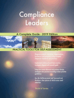 Compliance Leaders A Complete Guide - 2019 Edition