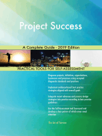 Project Success A Complete Guide - 2019 Edition