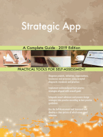 Strategic App A Complete Guide - 2019 Edition