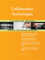Collaboration Technologies A Complete Guide - 2019 Edition