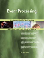 Event Processing A Complete Guide - 2019 Edition