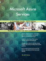Microsoft Azure Services A Complete Guide - 2019 Edition
