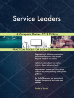 Service Leaders A Complete Guide - 2019 Edition