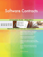 Software Contracts A Complete Guide - 2019 Edition