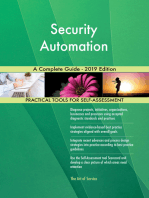 Security Automation A Complete Guide - 2019 Edition