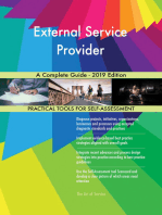 External Service Provider A Complete Guide - 2019 Edition