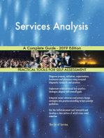 Services Analysis A Complete Guide - 2019 Edition