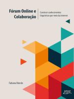 Fórum online e colaboração:: construir conhecimentos linguísticos por meio da internet