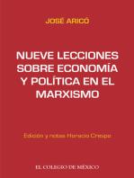 Nueve lecciones sobre economía y política en el marxismo