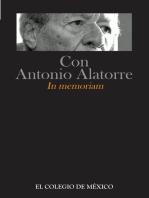 Con Antonio Alatorre