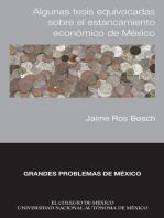 Algunas tesis equivocadas sobre el estancamiento económico de México