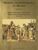 Historia sociolingüística de México.