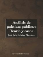 Análisis de políticas públicas