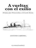 A vueltas con el exilio. (De Juan José Domenchina a Gerardo Deniz)