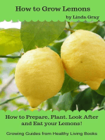 How to Grow Lemons