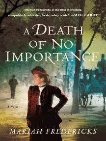 A Death of No Importance: A Novel