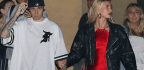 Hailey Baldwin's Date Night Outfit Makes Us Forget That Heels Even Exist