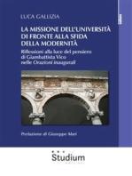 La missione dell'università di fronte alla sfida della modernità