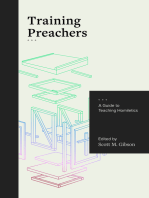 Training Preachers