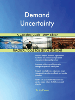 Demand Uncertainty A Complete Guide - 2019 Edition