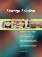 Storage Solution A Complete Guide - 2019 Edition