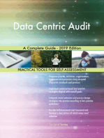 Data Centric Audit A Complete Guide - 2019 Edition