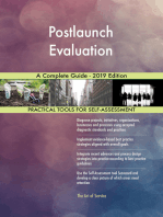 Postlaunch Evaluation A Complete Guide - 2019 Edition