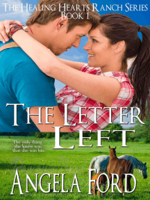 The Letter Left: The Healing Hearts Ranch, #1