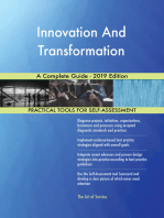 Innovation And Transformation A Complete Guide - 2019 Edition
