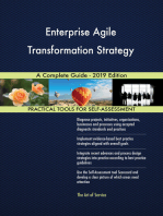 Enterprise Agile Transformation Strategy A Complete Guide - 2019 Edition