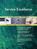 Service Excellence A Complete Guide - 2019 Edition