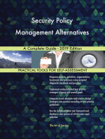 Security Policy Management Alternatives A Complete Guide - 2019 Edition