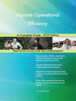 Improve Operational Efficiency A Complete Guide - 2019 Edition
