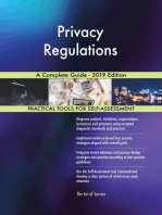 Privacy Regulations A Complete Guide - 2019 Edition