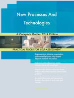 New Processes And Technologies A Complete Guide - 2019 Edition