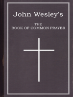 John Wesley's The Book of Common Prayer - eBook