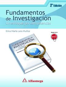 Fundamentos de investigación - Un enfoque por competencias 2a edición